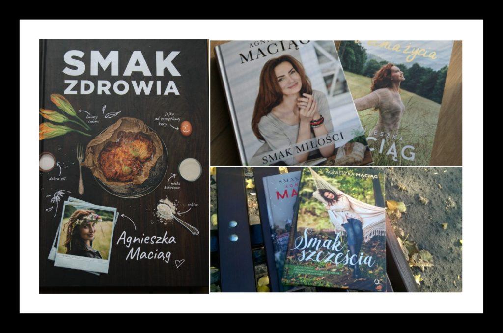 Książkowe smaki Agnieszki Maciąg